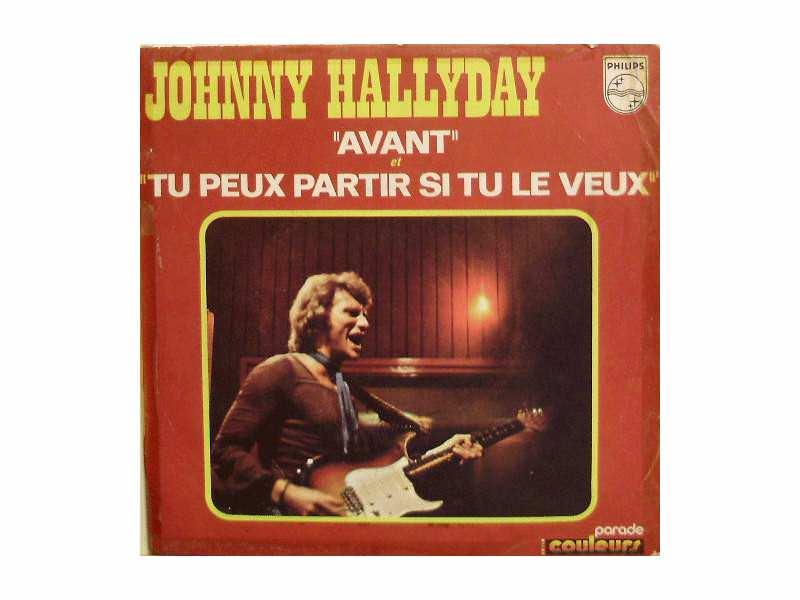 Johnny Hallyday - Avant