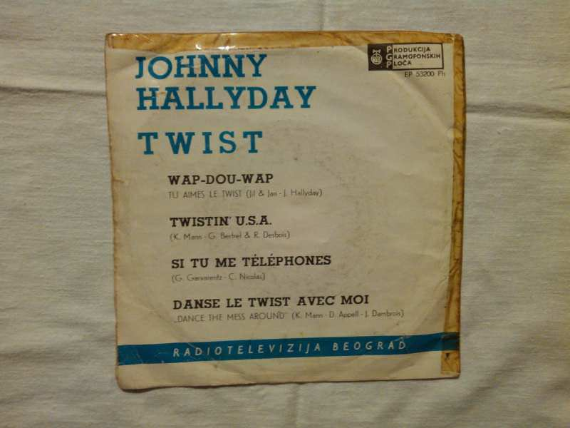 Johnny Hallyday - Twist