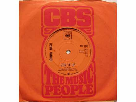 Johnny Nash - Stir It Up / Cream Puff