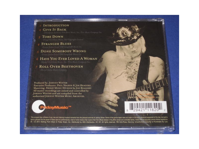 Johnny Winter - Live Bootleg Series Vol.8