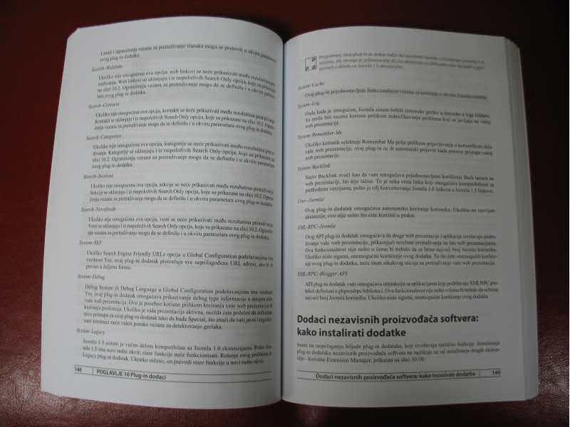 Joomla - Kreiranje moćnih i efikasnih sajtova - II izd