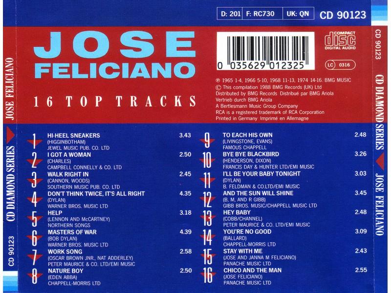 José Feliciano - 16 Top Tracks