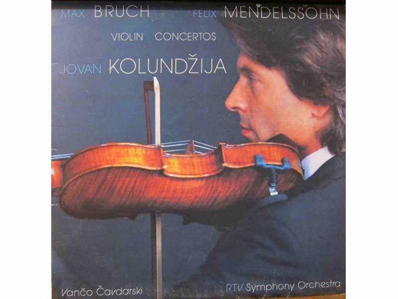 Jovan Kolundžija, Simfonijski Orkestar RTB - Violin Concertos