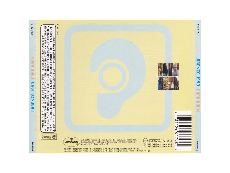Jovanotti - Lorenzo 1999: Capo Horn