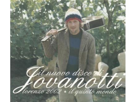 Jovanotti - Lorenzo 2002 - Il Quinto Mondo
