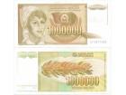 Jugoslavija 1.000.000 dinara 1989. UNC ST-124/P-99
