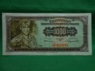 Jugoslavija 1000 dinara 1955./NUZ-25-A/
