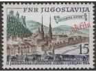 Jugoslavija 1954 Jufiz II Ljubljana, čisto (**)