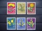 Jugoslavija 1965.god - Flora: Cveće (čisto)