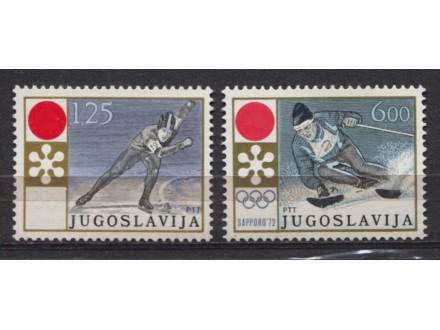 Jugoslavija 1972 XI OI Saporo