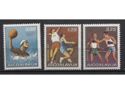 Jugoslavija 1972 XX OI Minhen - LOT