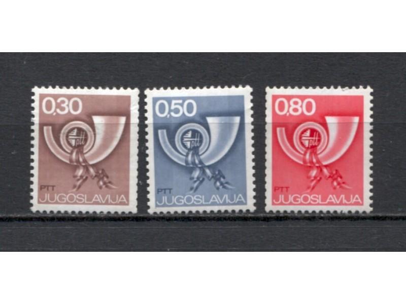 Jugoslavija 1973 šesto RI za automate