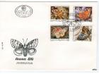 Jugoslavija, 1986, Fauna - Vste leptira, FDC