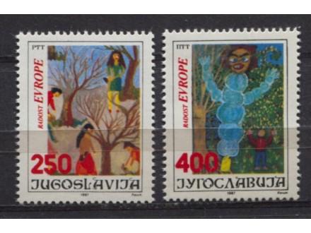 Jugoslavija 1987 Radost Evrope