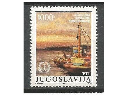 Jugoslavija 1988. Dunavska Konferencija ,cista