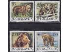 Jugoslavija 1988 Zaštićene životinje, čisto (**)