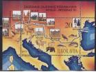 Jugoslavija 1991 Podunavske regije blok, čisto (**)