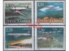 Jugoslavija 1995 Muzejski eksponati avioni, čisto (**)