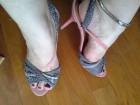 Just Cavalli kožne sandale