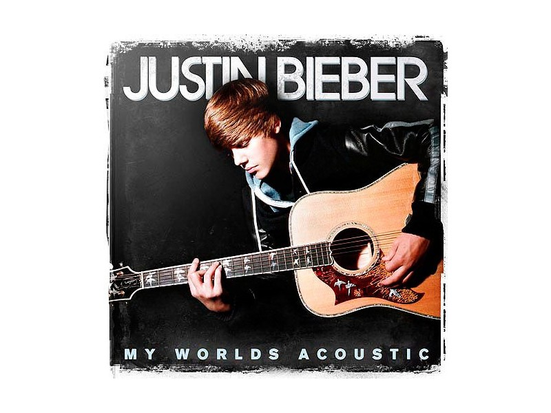 Justin Bieber ‎– My Worlds Acoustic