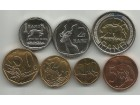 Juzna Afrika South Africa 2008/10. Set kovanica UNC