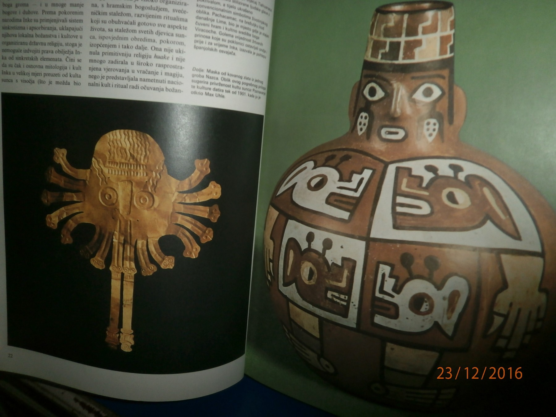 južnoamerička kultura datiranja