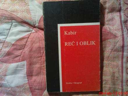 KABIR --  REC  I  OBLIK