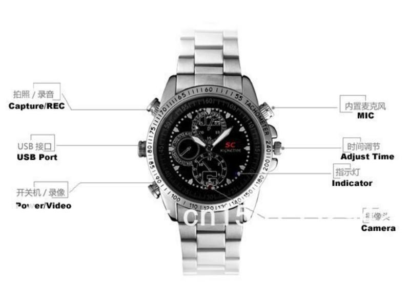 KAMERA U SATU - spy watch