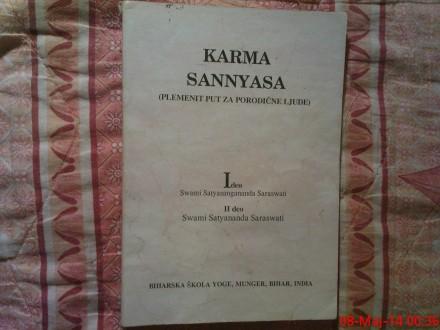KARMA SANNYASA -   SWAMI S. SARASWATI
