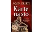KARTE NA STO - Agata Kristi