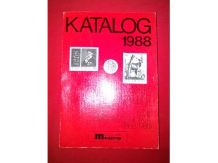 KATALOG 1988 MARKE JUGOSLOVENSKIH ZEMALJA, CENE METALNO