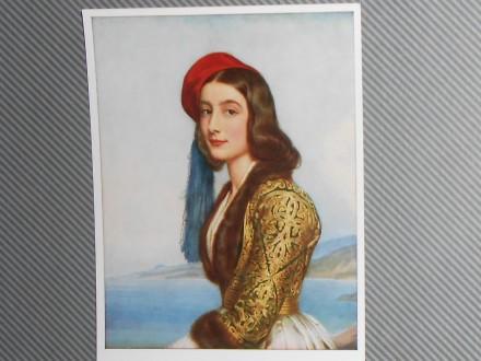 KATARINA BOTZARIS-1820-griecheland       ( IV-06 )