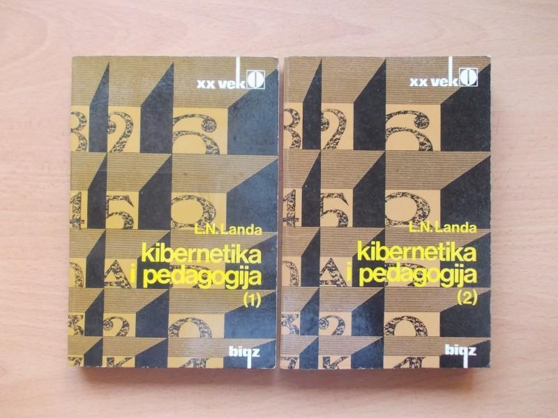 KIBERNETIKA I PEDAGOGIJA 1 I 2 - L.N.LANDA