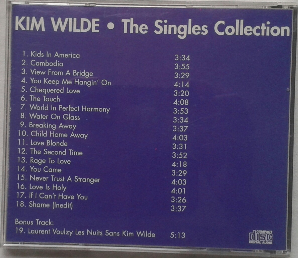 kim singles Listen to music from kim wilde like kids in america, cambodia & more find the latest tracks, albums, and images from kim wilde.