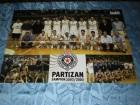 KK Partizan Beograd poster - Sampion 2002/2003