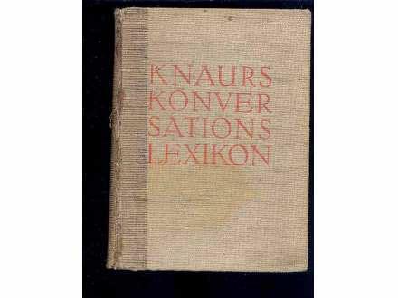 KNAURS KONVERSATIONS LEXIKON