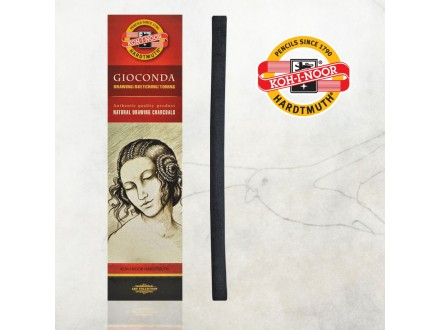 KOH-i-NOOR Gioconda Natural Drawing charcoals 8622