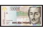 KOLUMBIJA 2000 pesosa (2009) UNC