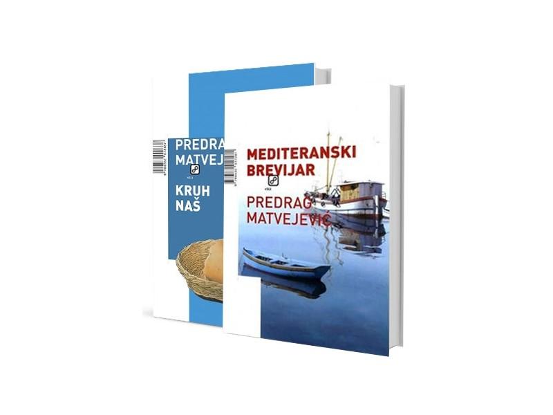 KOMPLET, MEDITERANSKI BREVIJAR + KRUH NAŠ - Predrag Matvejević