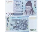 KOREA SOUTH Južna Korea 1000 Won 2007 UNC, P-54