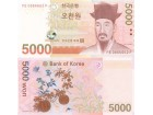KOREA SOUTH Južna Korea 5.000 Won 2008 , UNC P-55