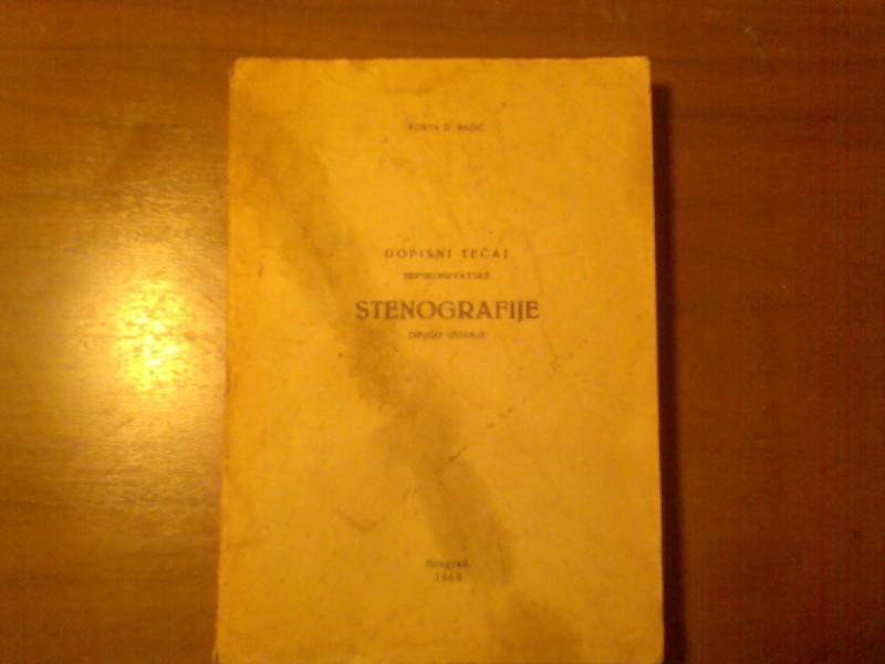 KOSTA D.RADIC STENOGRAFIJE