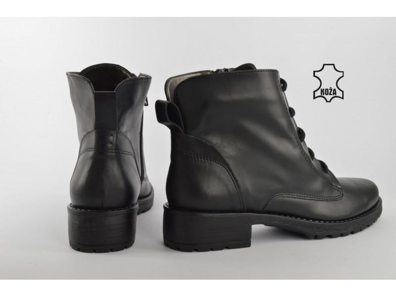 KOŽNE DUBOKE cipele 556C