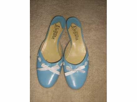 KOZNE papuce -kao nove -37-romanticne