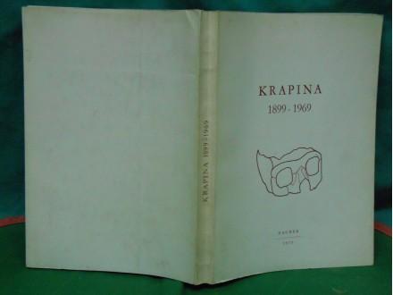 KRAPINA 1899-1969. zbornik radova