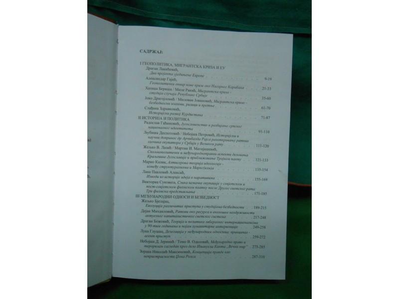 KULTURA POLISA Br.30.geopolitika,migrantska kriza,pravo