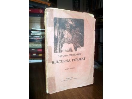 KULTURNA POVJEST - Davorin Trstenjak (1925)