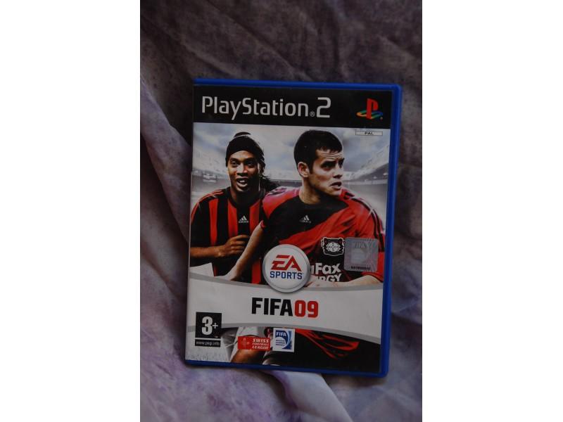 KUTIJA ZA PS2 IGRICU FIFA 09