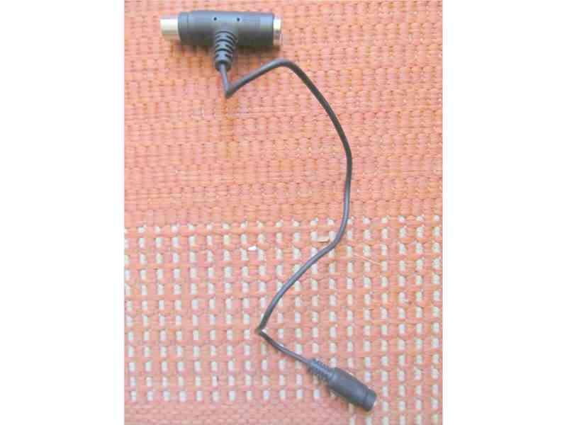 Kabel adapter DIN (petopolac)- 0,38 metara duzine