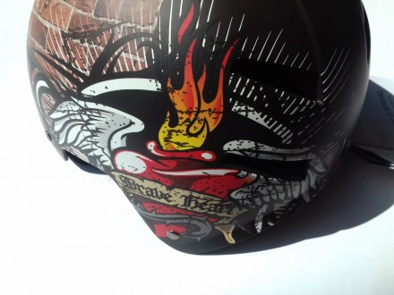 Kaciga Bonin Brave Heart u braon boji 52-57cm